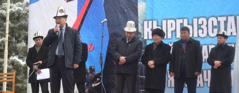 (Русский) В г. Кара-Балта почтили память героев Апрельской революции.