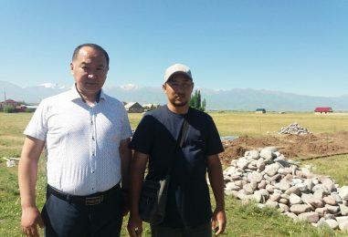 Жилой комплекс для нуждающихся строится в Кара-Балте