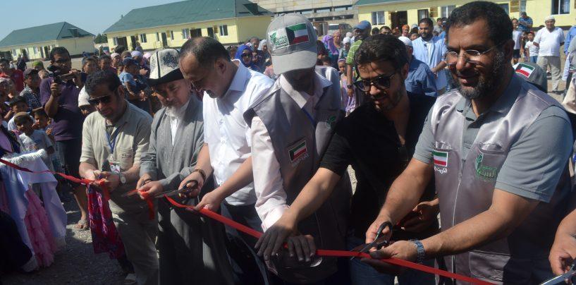 Долгожданное событие в г. Кара-Балта. Жилой комплекс для нуждающихся открыт!!!