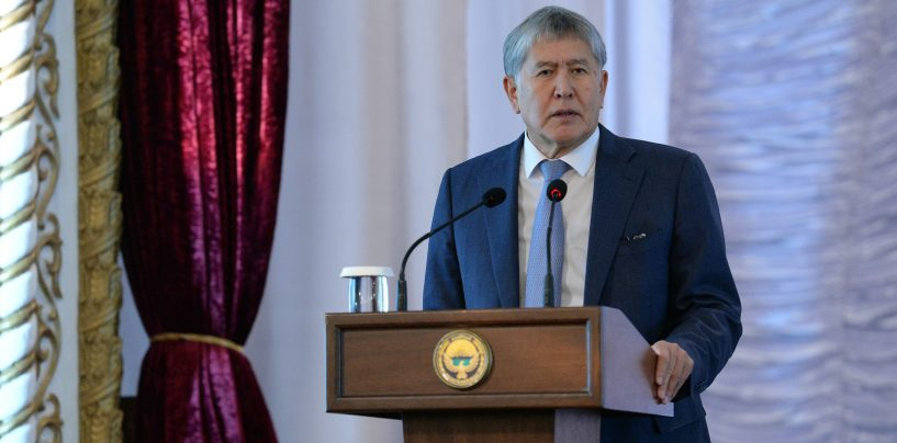 Президент страны побывал в Кара-Балте