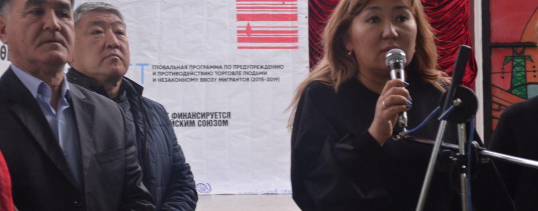 (Русский) В г. Кара-Балта состоялась ярмарка вакансий.