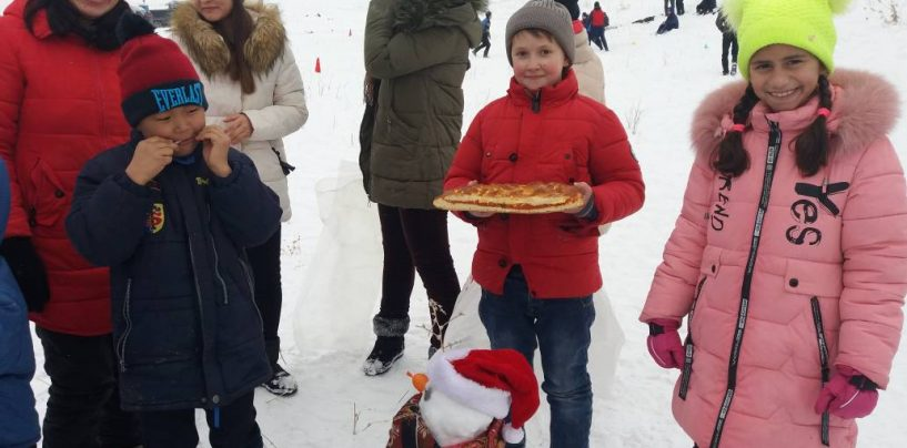 Зима, горы, праздник