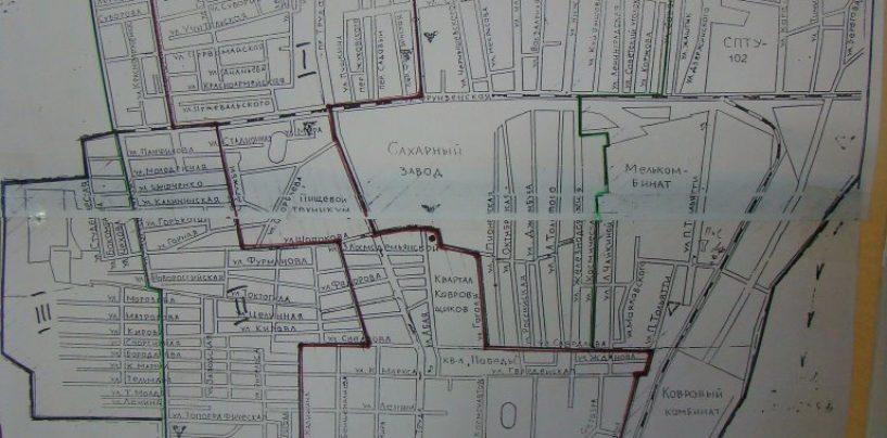 Переводим из зоны в зону земельные участки, улицы и т.д.