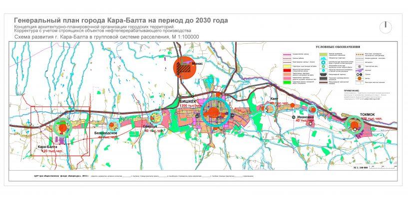 Ознакомьтесь с Генеральным Планом города !
