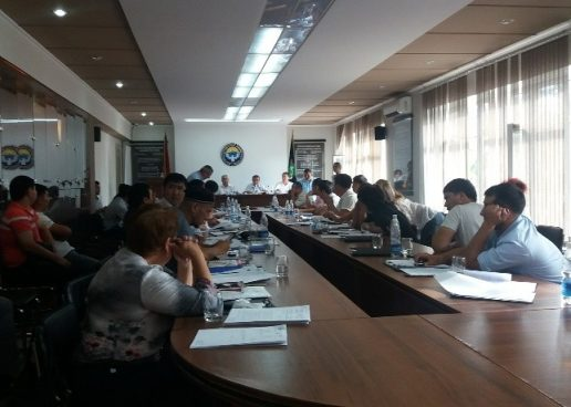 Депутаты  приняли отчет мэра города Кара-Балта.