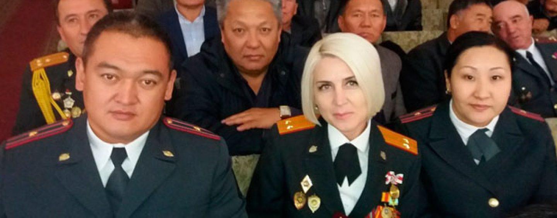 (Русский) В Кара-Балта отметили День милиции