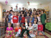 Новогодние подарки в детские дома города