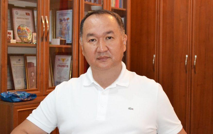 Мэр г.Кара-Балта Данияр Шабданов