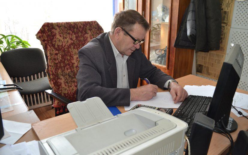 Зав. хоз Владимир Дмитриев