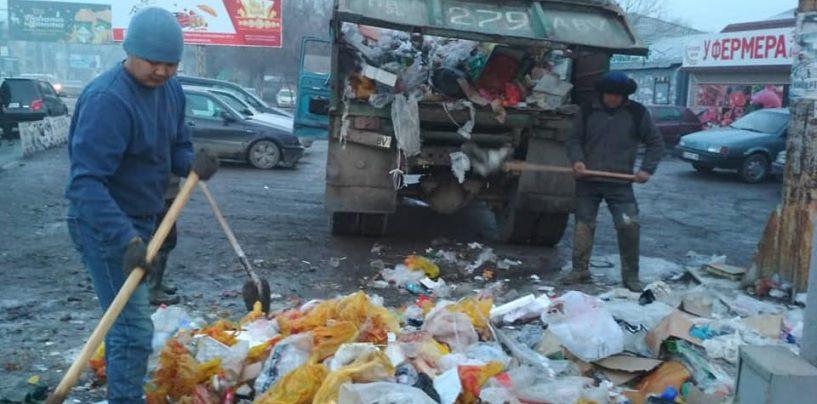 Санитарная очистка муниципальной территории г. Кара-Балта