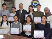 Мэр Данияр Шабданов встретился с молодежью города Кара-Балта