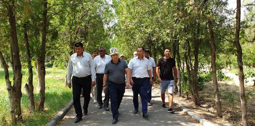 г.Кара-Балта посетил полпред Чуйской области