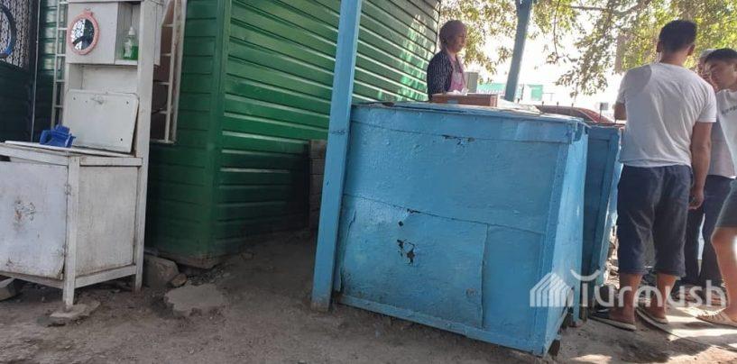 ⚠️В городе Кара-Балта работает несанкционированная самсакана, где обнаружена кишечная палочка, горожане будьте осторожны!