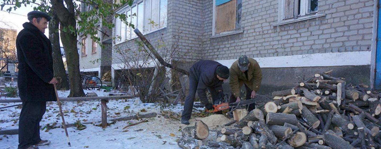 Раздача дров на отопительный период 2019-2020 года