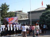 В городе Кара-Балта отпраздновали День независимости Кыргызской Республики