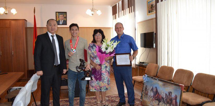 Карабалтинец стал Серебряным призером 16 Чемпионата Азии