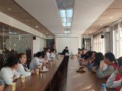 Встреча «Новое поколение» при мэрии г.Кара-Балта с волонтерами Красного полумесяца.